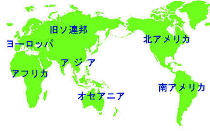 世界中の国名や首都がワン ... : 世界地図 画像 : 世界地図