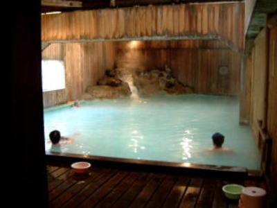 ああ、いい湯だな!須川温泉須川...