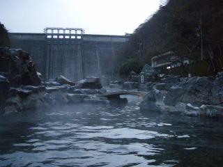 温泉 湯原